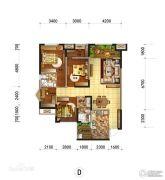 临港中央4室2厅2卫110--134平方米户型图