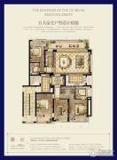 时代滨江4室2厅3卫185平方米户型图