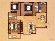 凤凰城3室2厅2卫125平方米户型图