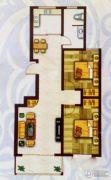 盛世新东城二期2室2厅1卫95平方米户型图