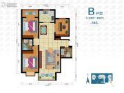 云祥花苑3室2厅2卫0平方米户型图