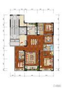 合肥当代MOMΛ4室2厅3卫172平方米户型图