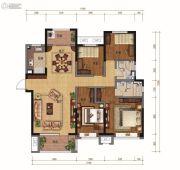 碧桂园・天汇4室2厅2卫150平方米户型图