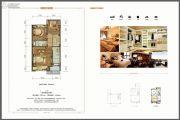 金科城1室1厅1卫0平方米户型图