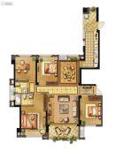 长乐阳光城翡丽湾4室2厅2卫139平方米户型图