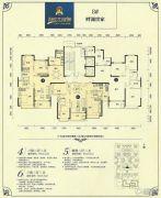 恒大绿洲4室2厅2卫123--144平方米户型图
