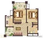 神农架龙降坪国际生态旅游度假区2室1厅1卫60平方米户型图