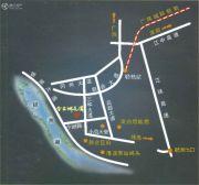 今古洲花园交通图