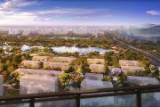 中洲锦城湖岸效果图