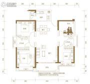 玖颂江湾3室2厅2卫122平方米户型图