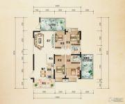 熙岸尚城二期4室2厅2卫166--176平方米户型图