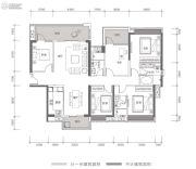方直星耀国际5室2厅3卫177平方米户型图