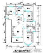 君尚一品小区二期2室2厅2卫118平方米户型图