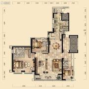 奕聪花园3室2厅4卫278平方米户型图