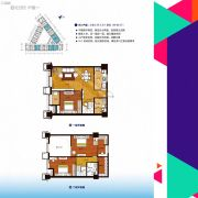 正元新都汇3室2厅2卫0平方米户型图