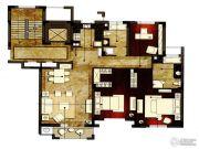 洛城中央御景3室2厅2卫138平方米户型图