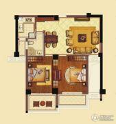海洲新天地广场3室2厅1卫106平方米户型图