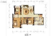 成华奥园广场4室2厅2卫120平方米户型图