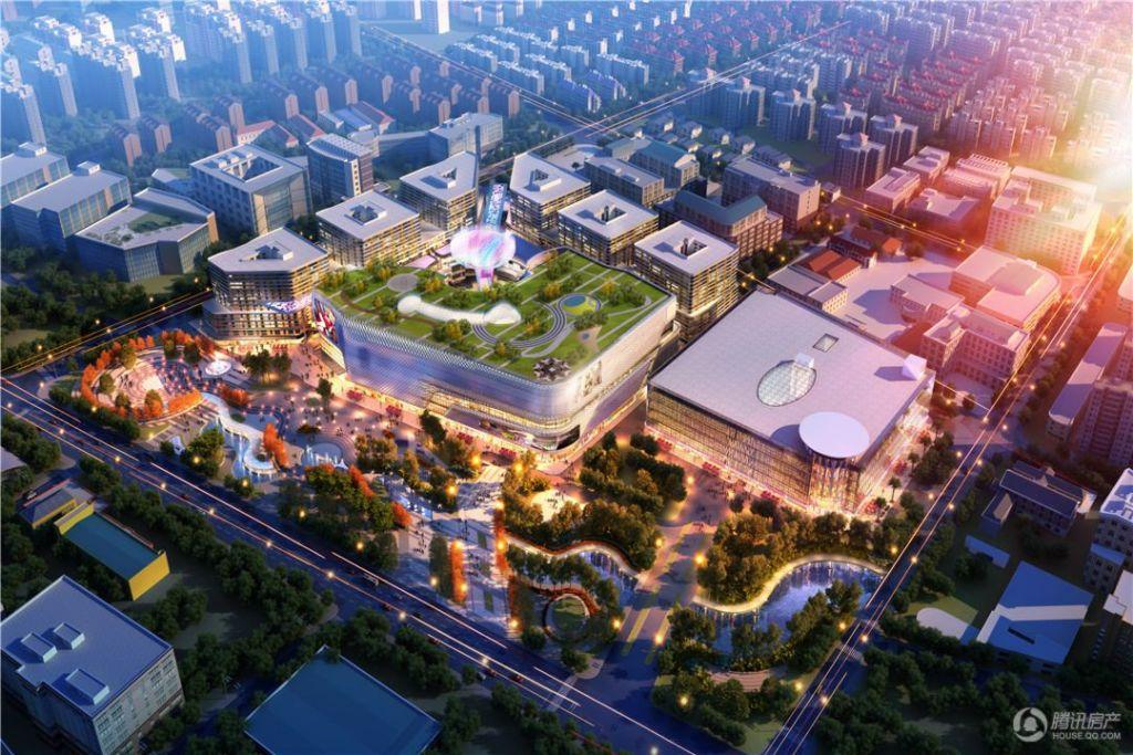 新华红星国际广场   效果图