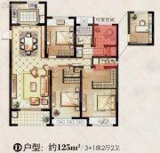 红豆香江豪庭0室0厅0卫0平方米户型图