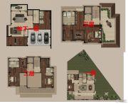 高科紫微堂5室2厅5卫594平方米户型图