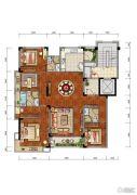 合肥当代MOMΛ4室2厅3卫169平方米户型图