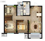 万科城3室2厅1卫94平方米户型图