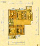 北斗星城・御府Ⅱ期3室2厅1卫94平方米户型图
