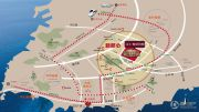 海尔地产・世纪公馆交通图