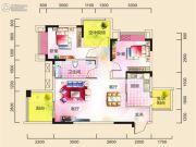 广厦城蜜宫2室1厅1卫0平方米户型图