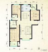 鑫界9号院3室2厅2卫121平方米户型图