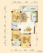 春风玫瑰园3室2厅1卫112平方米户型图