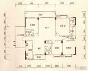 百福豪园4室2厅4卫176平方米户型图