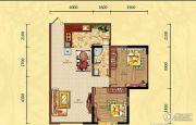 滨江外滩2室2厅1卫80平方米户型图