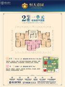 武汉恒大嘉园0平方米户型图