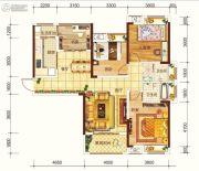 海宏江南壹号4室2厅2卫130平方米户型图
