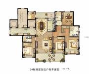 德诚翠湖湾4室2厅3卫192平方米户型图