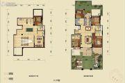 蓝光公园悦府0室0厅0卫269平方米户型图