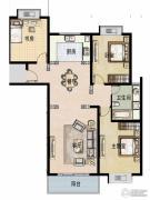 福宇凤凰华庭3室2厅1卫119平方米户型图