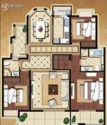 中南军山半岛3室2厅2卫0平方米户型图