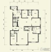 广渠金茂府5室2厅3卫331平方米户型图