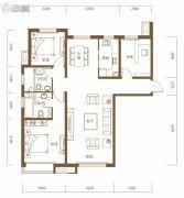 保利・领秀山3室2厅2卫135平方米户型图