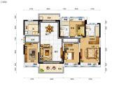 碧桂园太东天樾湾4室2厅2卫125平方米户型图