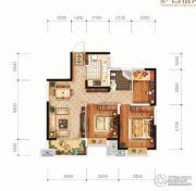 城投地产・智禧湾3室2厅1卫92平方米户型图