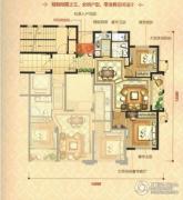 瑞鸿・中央华府2室2厅1卫89平方米户型图