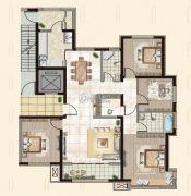 御融公馆4室2厅2卫0平方米户型图
