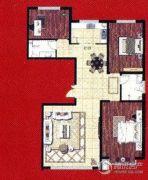 阿穆尔嘉园3室2厅2卫148平方米户型图