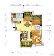 宏创・龙湾半岛3室2厅2卫117平方米户型图