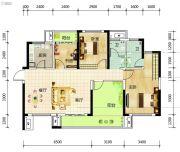 筑梦星园4室2厅2卫114平方米户型图