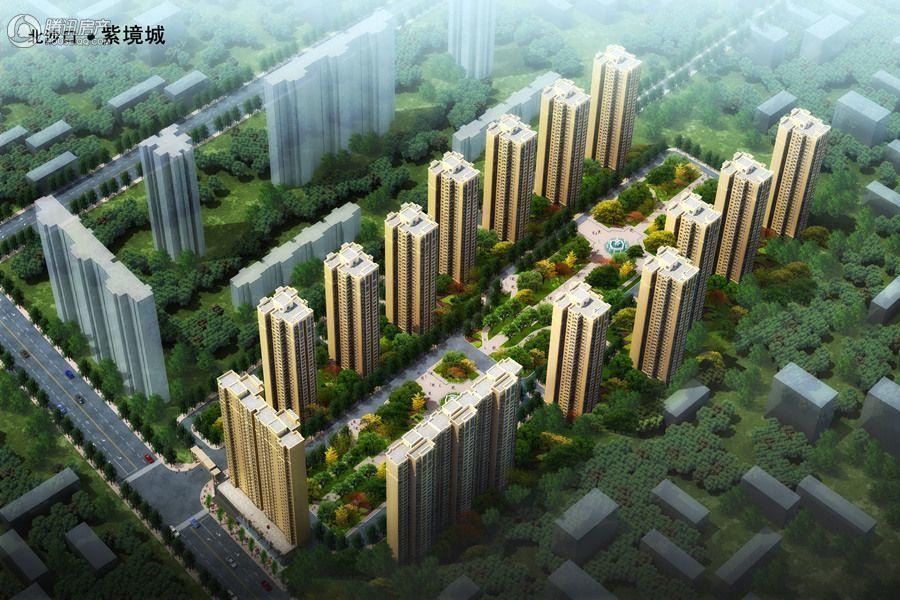 紫境城项目二期鸟瞰图